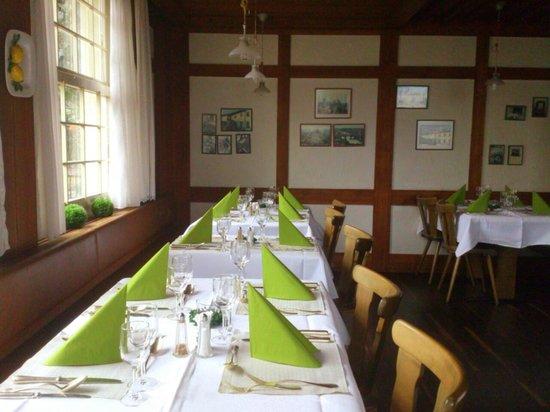 Restaurant Sonne: Interlaken Matten - Sonne - dining area