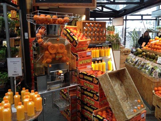 Torvehallerne: Orange