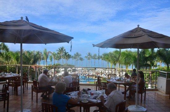 Grand Wailea - A Waldorf Astoria Resort: View from Breakfast