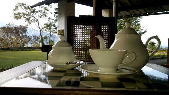 Sinna Dorai's Bungalow: Morning tea