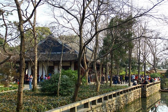 Humble Administrator's Garden: 秫香館