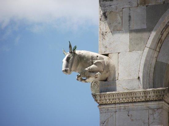 Duomo Pisa : Detalhe na fachada do Duomo