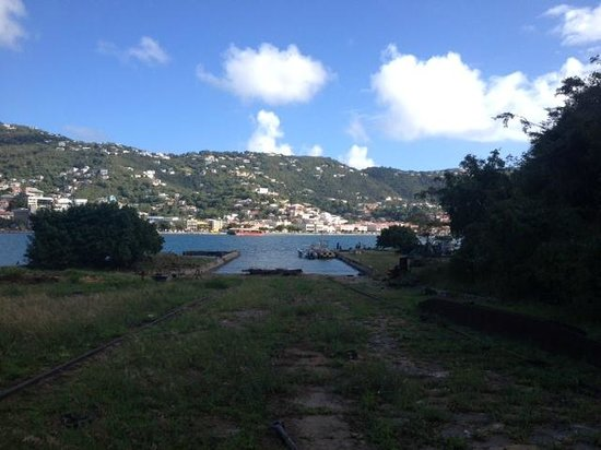 Hassel Island: View of St. Thomas from Hassell Island