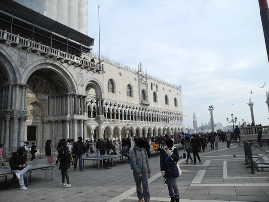 St. Mark's Square: Facciata del Palazzo Ducale