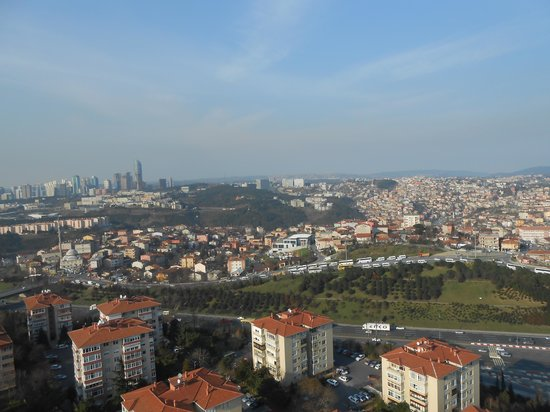 Le Méridien Istanbul Etiler : Panoramic View 1 from Top of the Hotel
