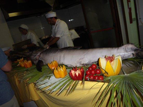 Otium Sibari Beach Resort: CENA A BASE DI PESCE