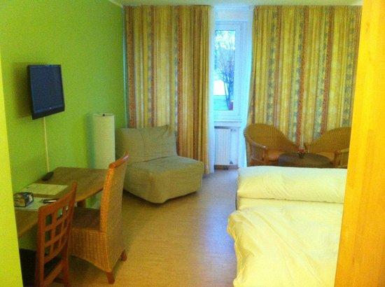 Hotel Drei Kronen: interno stanza