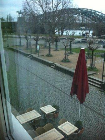Hotel Drei Kronen: vista dalla stanza