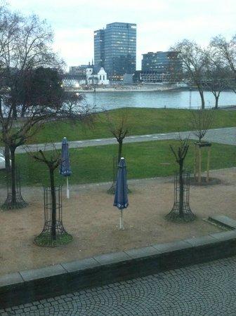 Hotel Drei Kronen: vista fiume