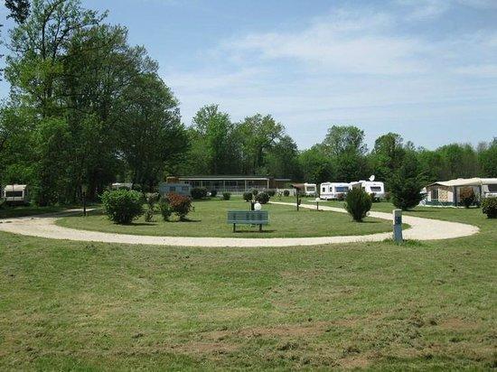 """Camping Le Bois du Coderc: Zone campable """"dégagée"""""""