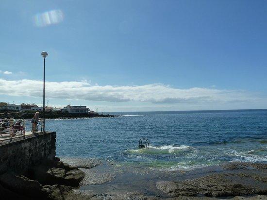 Restaurante La Caleta: View over the bay