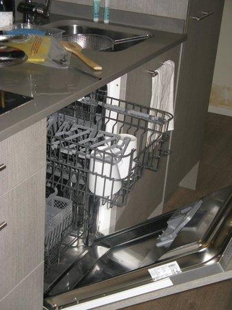 Aspasios Rambla Catalunya Suites: 食洗機