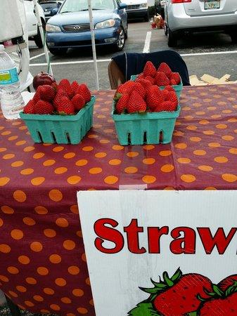Saturday Morning Market: Beautiful berries available!