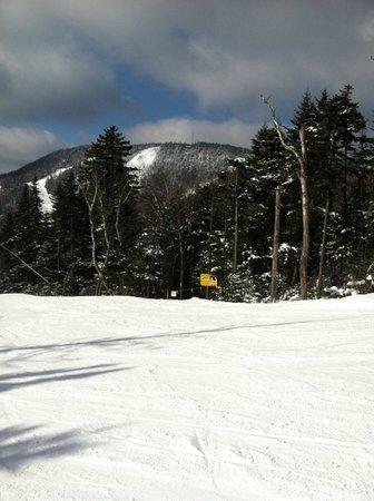 North Creek, NY: Gore Mountain from Topridge