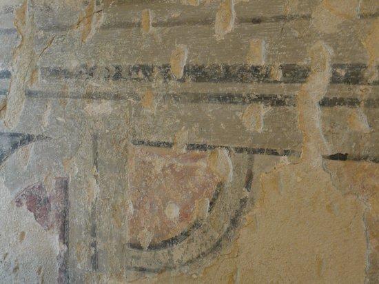 Relais Cattedrale: dettaglio affreschi, camera Salviam