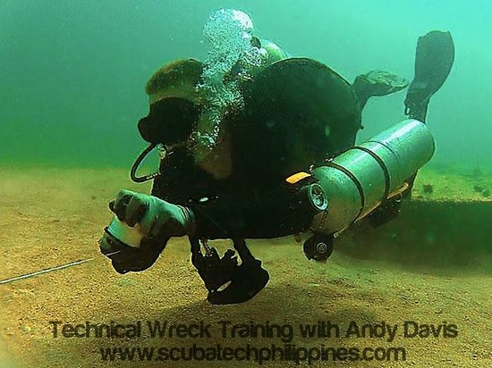 Scuba Tech Philippines: Black Mask Drills - Technical Wreck Course
