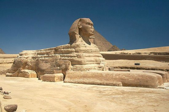 The Great Sphinx of the Giza