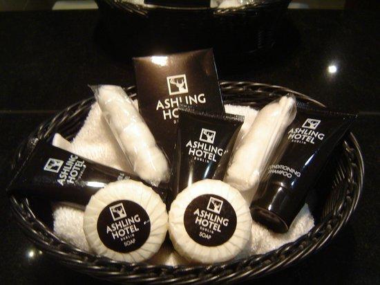Ashling Hotel: Toiletries