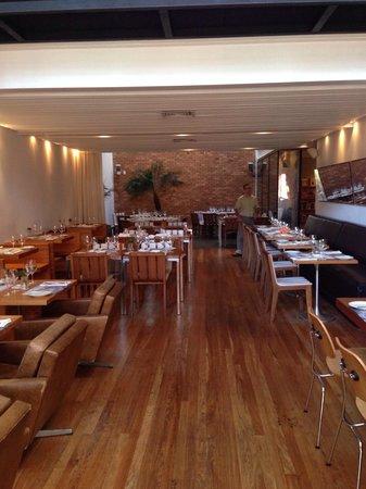 Bazzar: Inside the restaurant