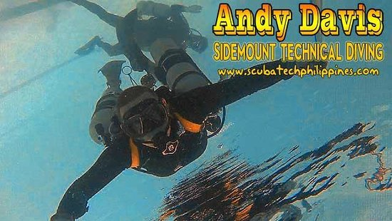 Scuba Tech Philippines: Confined water training - PADI Sidemount Diver course