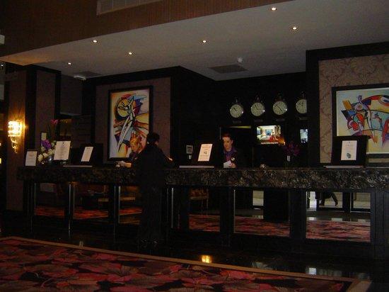 Ashling Hotel: Reception