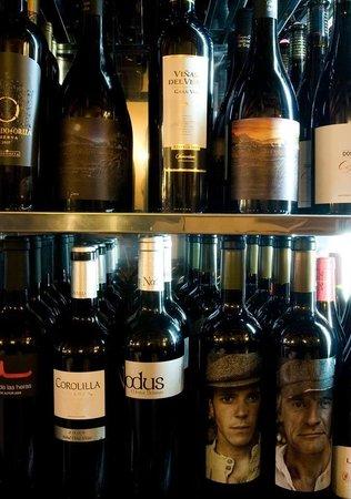 Restaurante Toni Canto: Vinos.