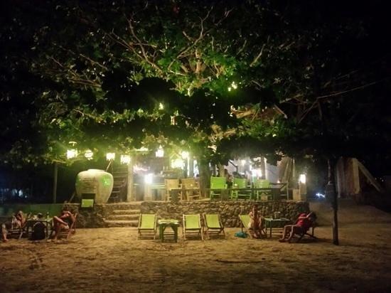Time for Lime's Restaurant: Beachfront of the restaurant