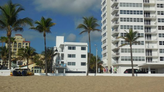 View of Snooze from Ft. Lauderdale Beach