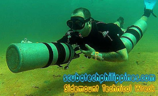 Scuba Tech Philippines: PADI Sidemount Diver Course Philippines