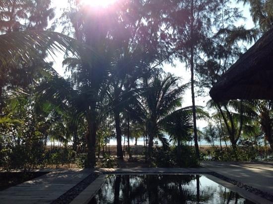 L'Alyana Ninh Van Bay: view from lagoon