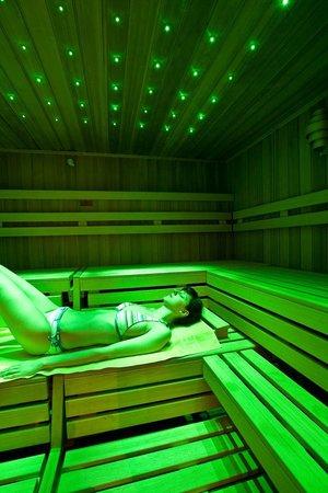 Vital - Hotel zum Ritter: Sanarium im Spa mit Farblicht-Therapie