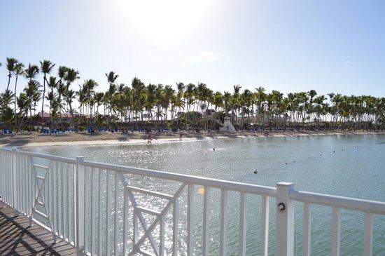 Luxury Bahia Principe Bouganville : view from pier