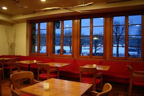 Hotel de la Lande: dining area