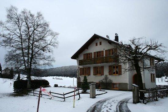 Hotel de la Lande: landscape view