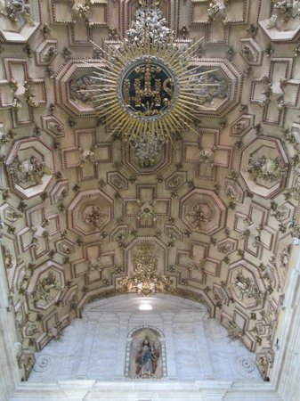 Basilica Cathedral : o esplendoso teto