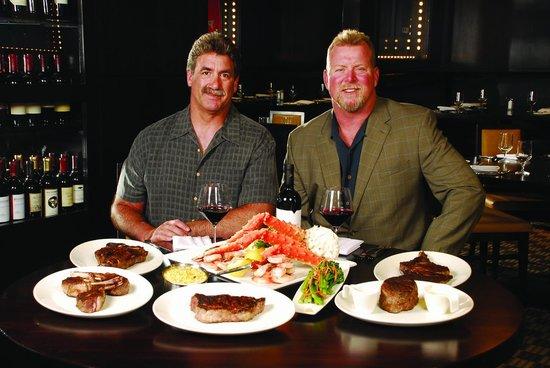 Fred Smerlas & Steve DeOssie of Fred & Steve's Steakhouse
