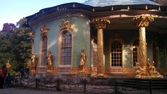 Chinesisches Haus (Chinese House) : Potsdam, Brandeburgo, Alemania. Chinesisches Haus.