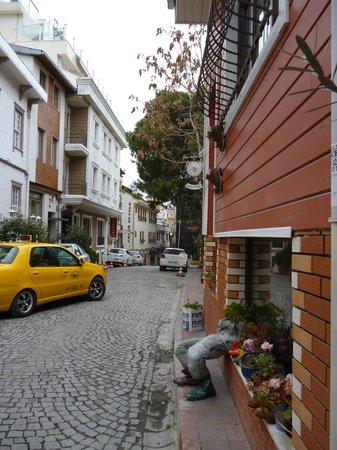 Angel's Home Hotel: улица, на которой отель расположен