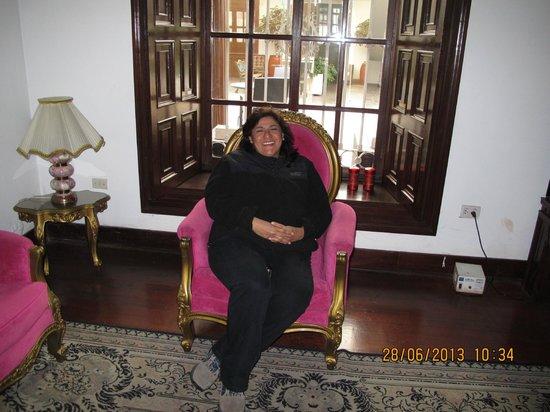 Gran Hotel Bolivar : Salon para descanso.