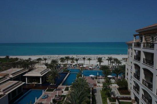 The St. Regis Saadiyat Island Resort: View from room