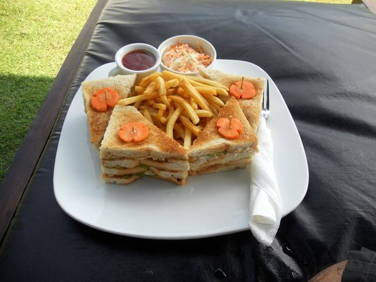 Brook Boutique Hotel & Spa: lunch