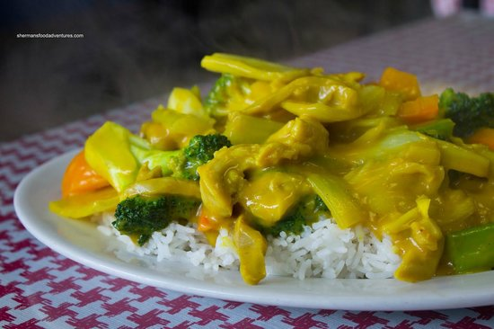 Chicken Chinese Curry - Picture of Panda Chinese ... Young Chow Fried Rice