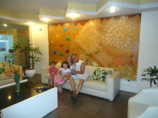Praiatur Hotel Florianopolis: Hall do hotel