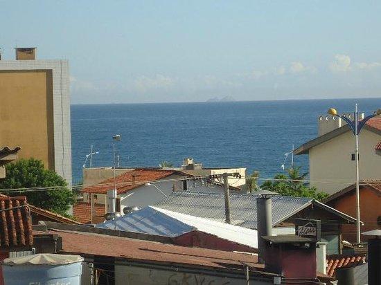 Praiatur Hotel Florianopolis: Vista do apartamento