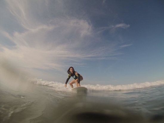 Surf lesson with Natura Surf Life