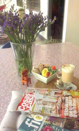 Casa Friuli Hostal Panama : cafe