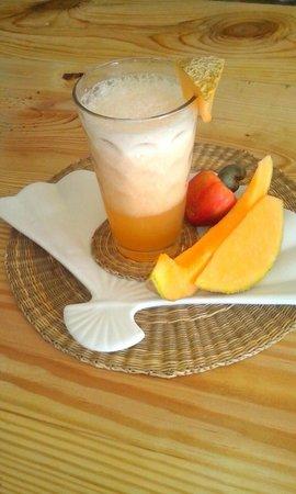 Casa Friuli Hostal Panama : refrescante espuma de melon