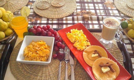 Casa Friuli Hostal Panama : colazione
