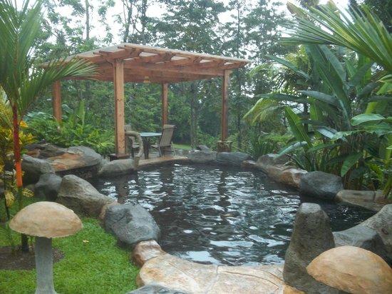 Hotel El Silencio del Campo: One of the small hot springs