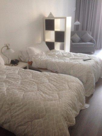 Atenea Calabria Apartaments: Brilliant beds